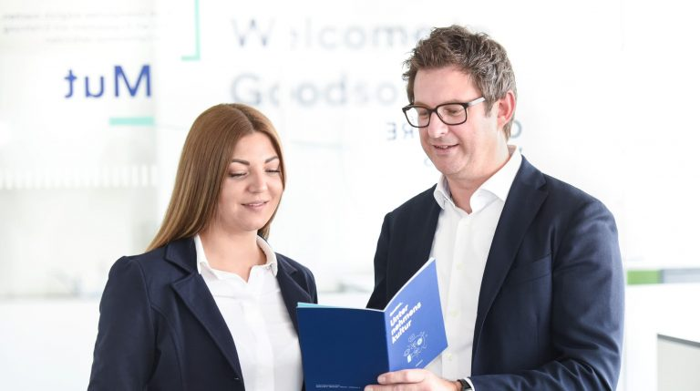 Simone Maurer und Hansjörg Gutensohn der Firma Goodson