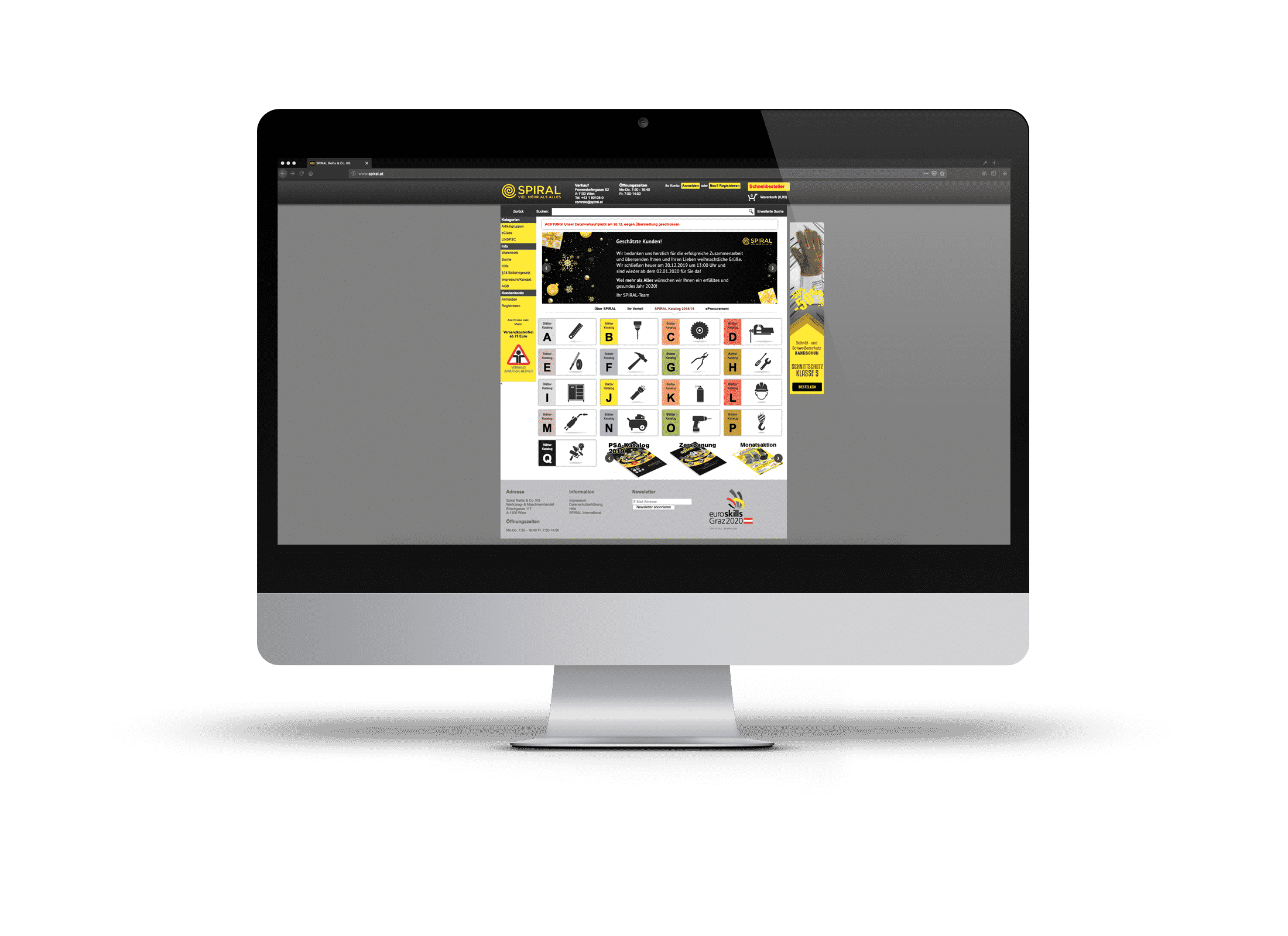 Spiral Webshop