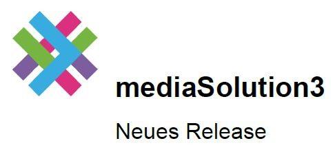 Mediasolution3 update